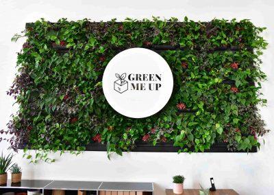 Pflanzenwand von Gärtner Gregg