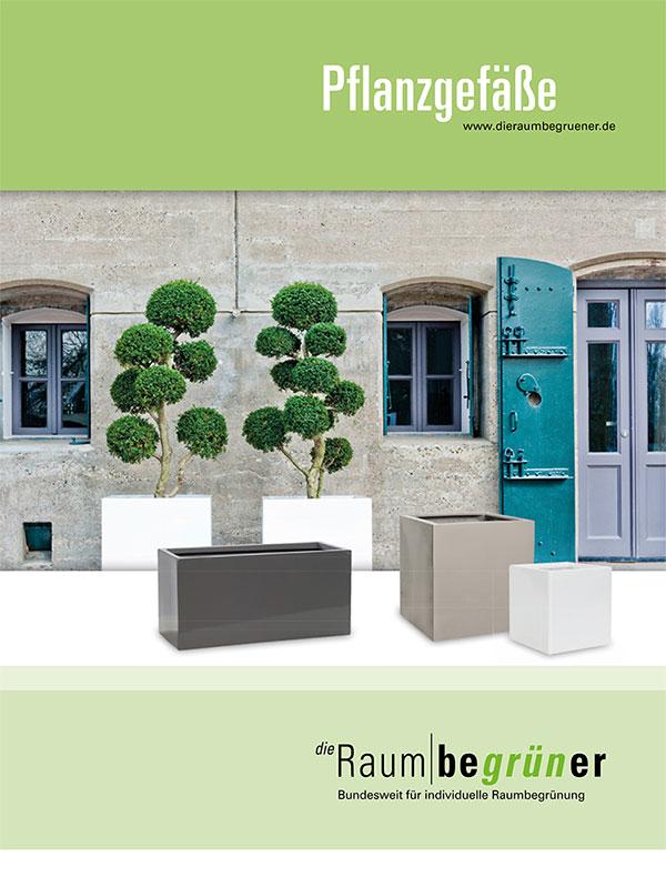 Pflanzgefäße  Katalog Cover Gärtner Gregg