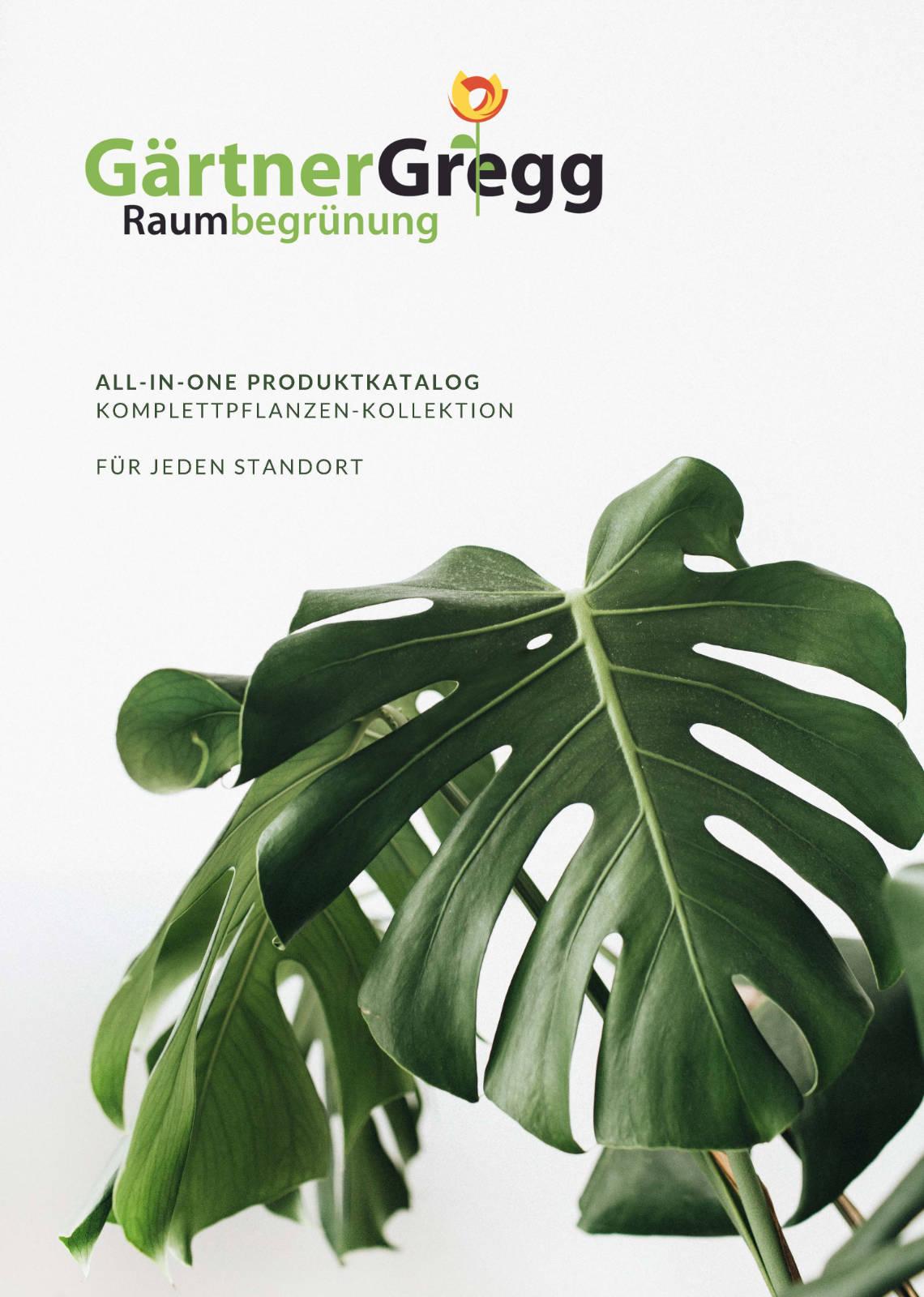 Katalog Gärtner Gregg - Cover